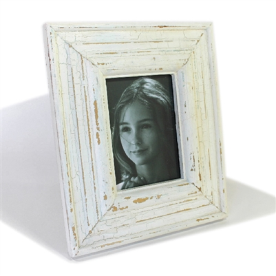"Frame RW Rustic White Thick (5x7) 11x13"" (Stand).."