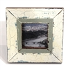 "Frame RW White/Green Insert 6.5x6.5""..(Stand)"