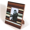 "Frame RW Wood Rustic Color 7x8.5"" (Stand).."