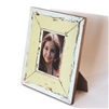 "Frame RW White/Pale Yellow 11x13"" (5x7) (Stand).."
