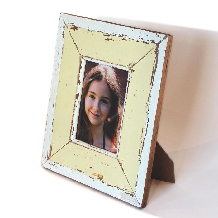 Frame RW White/Pale Yellow 11x13\