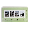 "Frame/Hook RW Pale Green 4-pic (5x7) 27.5x15.5"".."