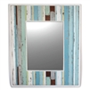 "Mirror RW Mix Blue Grey 27.5x32.5"" (15x20"") .."