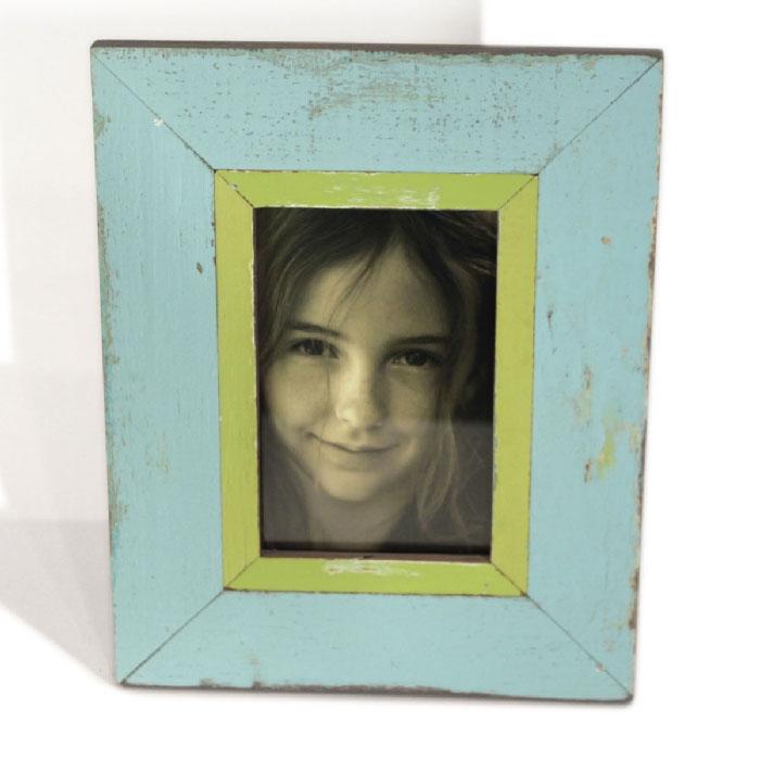 Frame Stand (4x6) RW Pale Blue/Lemon 8x10\
