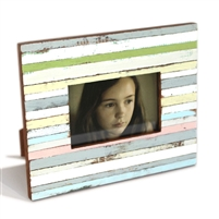 "Frame Strips SRW White/Green/Cream 8.5x10.5"" (4x6"").."