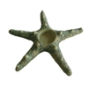 Starfish Votive Ceramic Large - Moss Green..