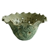 Bowl Ceramic Open Flared - Moss Green..