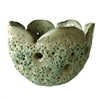 Bowl Ceramic Waterlily - Moss Green..