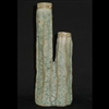 "Moss Double Tall Vase 2.25x4x11"".."