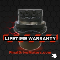 Volvo EC45 Final Drive Replacement Travel Motor