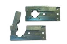 hinged shaft hangers for greenhouse vents