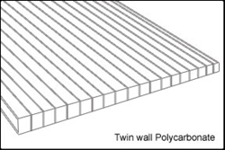 8 mm Twin Wall Polycarbonate