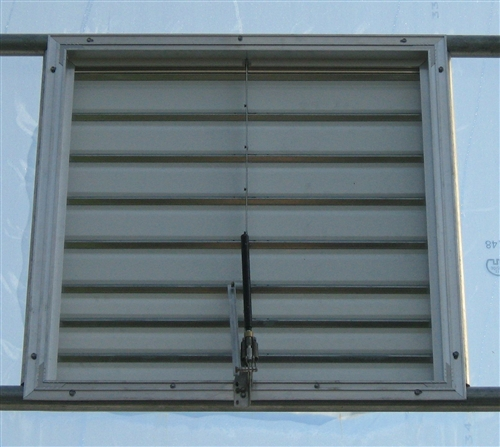 Thermal Vent Opener - Shutters (or louvers)