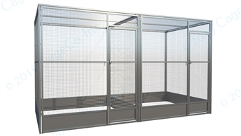 Outdoor Cattery Galvanized