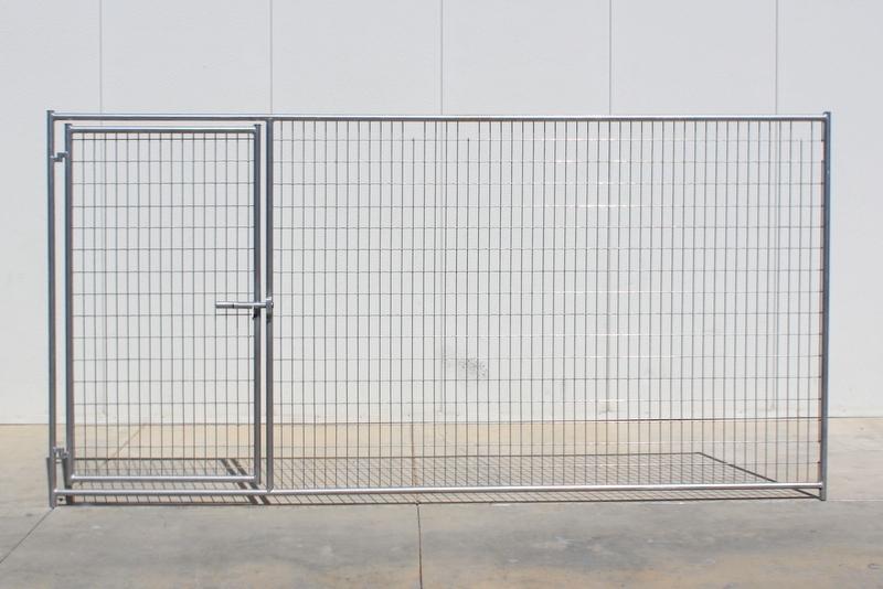 """Cactus Kennel Gate Panel - 6\' x 12\' x 6\', 1-3/8"""" diam. 18 gauge ..."""