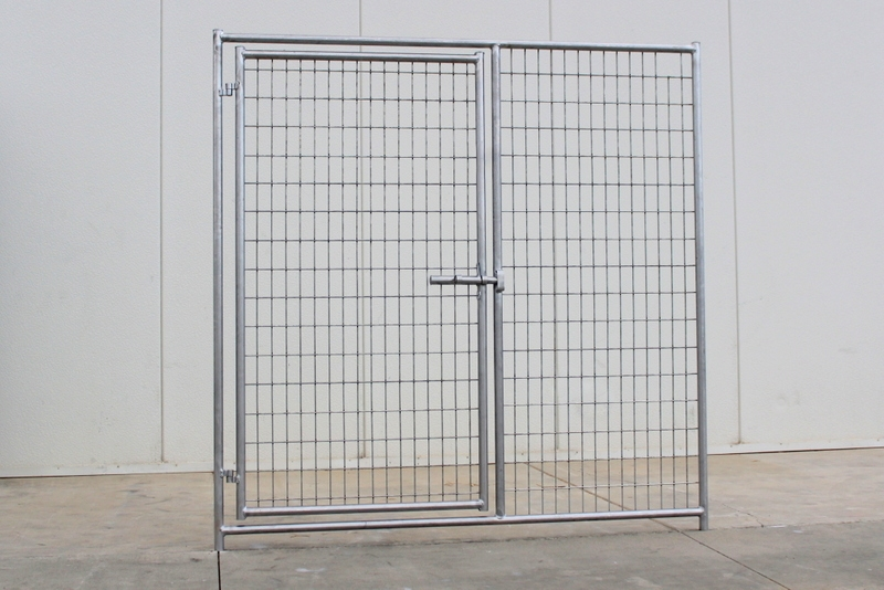 Cactus Dog Kennel Gate Panel 6u0027W X 6u0027H
