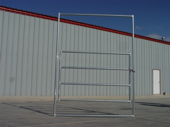 Horse Round Pen 4-Rail Gate Panel