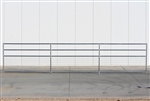 1-7/8 Horse Corral Foaling Panel 4 Rail With Welded Wire:  24'W x 5'H