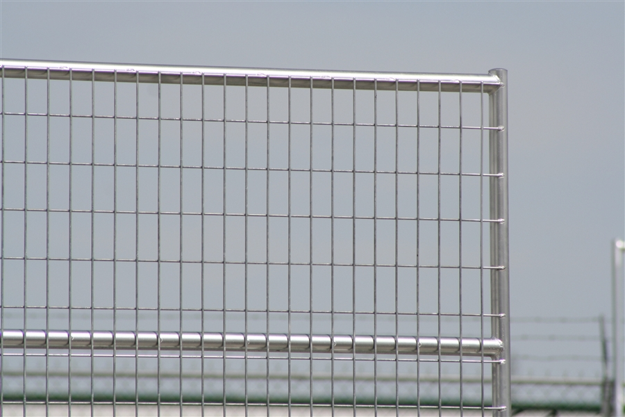 Welded Wire Corrals - 1 7/8 Horse Corral Panel 6 Rail With Welded ...