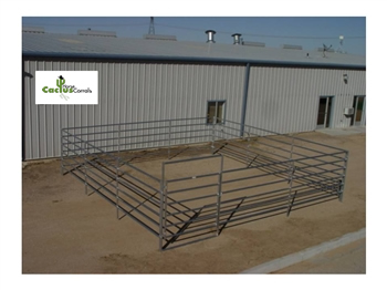 6-Rail Complete Horse Corral