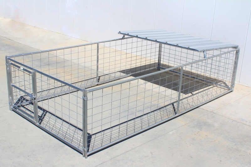 Livestock Pens 8 X16 Hog Pen With Roof Shelter Cactus