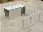 Hog Pen Add On With Attached Shelter Enclosure
