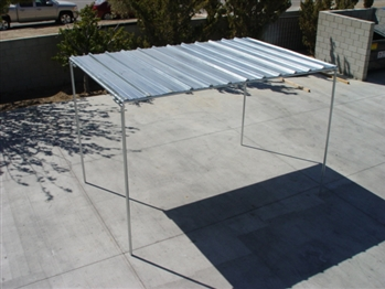 Horse Shelter Roof with Legs