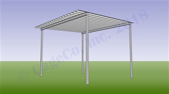 Horse Shelter Free Standing