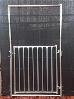 Sheep Gate with Drop Pin:  4'H x 4'W