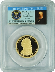 2011-S PCGS PR70DCAM Rutherford B. Hayes (Presidential Label)