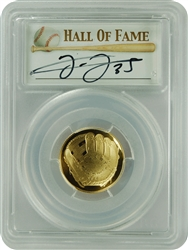 2014-W PCGS PR70DCAM $5 Gold Baseball Hall Of Fame Frank Thomas First Strike
