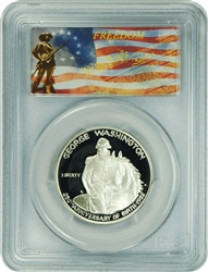1982-S PCGS PR70DCAM Washington Half Dollar Freedom Label