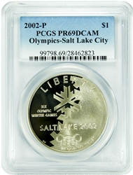 2002-P PCGS PR69DCAM Salt Lake City Olympics