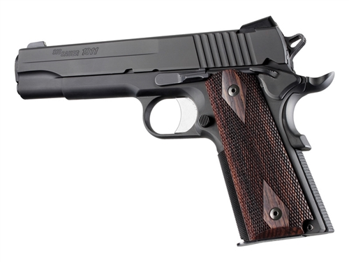 HG45911 Hogue Grips - 1911 Auto Rosewood Checkered