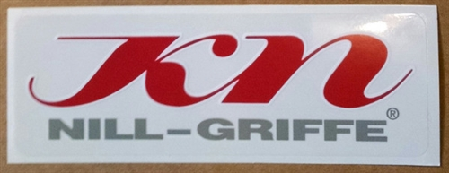 Nill Grips Decal (2 ea  - Free Shipping)