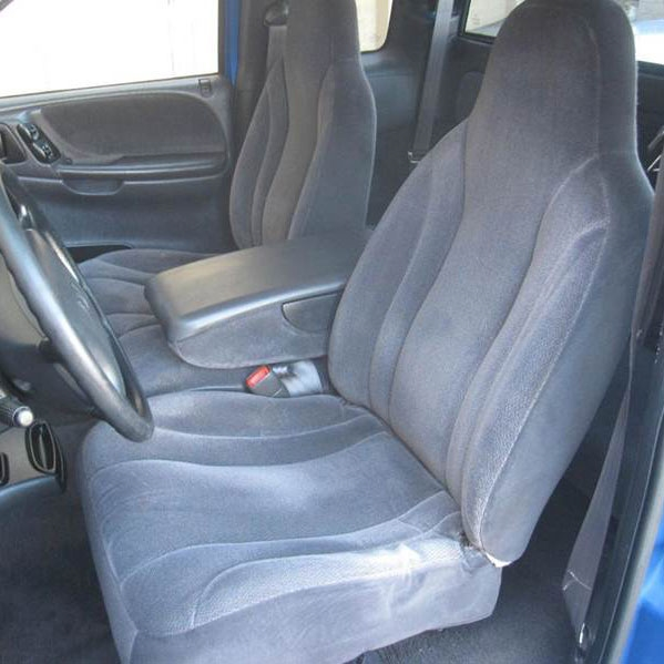 dodge dakota replacement seats 2 - 2 Dodge Dakota QUAD CAB Katzkin Leather Upholstery Kit (2 row set)