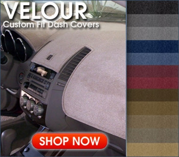 Coverking Velour Custom Dash Cover | AutoSeatSkins.com