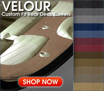 Coverking Velour Rear Deck Cover | AutoSeatSkins.com