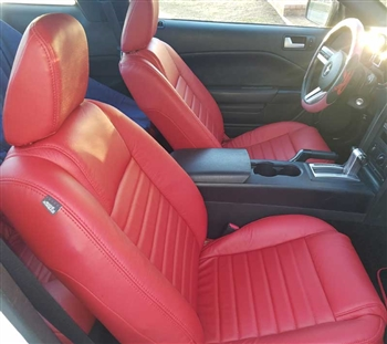 Ford Mustang Convertible Katzkin Leather Seats (without front seat SRS airbags), 2005, 2006, 2007, 2008, 2009