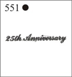 Katzkin Embroidery - 25th Anniversary, EMB-551