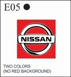 Katzkin Embroidery - Nissan Logo (2 color), EMB-E05