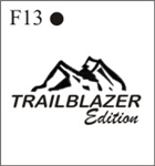 Katzkin Embroidery - Trailblazer Edition, EMB-F13