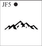 Katzkin Embroidery - Mountains, EMB-JF5