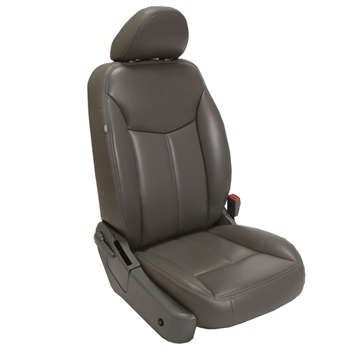 Chrysler Sebring Sedan Katzkin Leather Seats (slip cover driver and passenger seat, without fold flat passenger seat), 2007, 2008, 2009