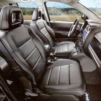 Dodge Caliber SE Katzkin Leather Seats (without passenger fold flat, without front seat airbags), 2007, 2008, 2009)