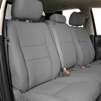 Toyota Tundra Double Cab Katzkin Leather Seats (2 passenger front seat, electric driver, with fold flat passenger), 2007, 2008, 2009, 2010, 2011, 2012, 2013