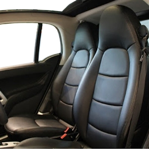 Mercedes Smart FORTWO Coupe and Cabriolet Katzkin Leather Seats, 2008, 2009, 2010, 2011, 2012, 2013, 2014, 2015