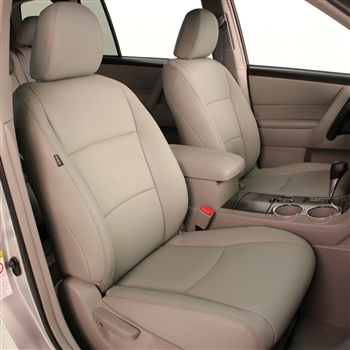 Toyota Highlander Katzkin Leather Seats (manual driver seat, with third row seating), 2008, 2009, 2010