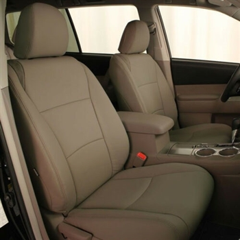 Toyota Highlander Katzkin Leather Seats (electric driver seat), 2011, 2012, 2013