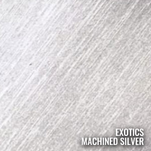 Machined Silver